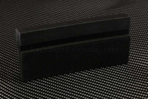 Gumi kasírozó fekete színben